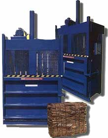 cardboard recycling balers