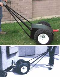 The Bin Dolly Battery Powered Container Mover